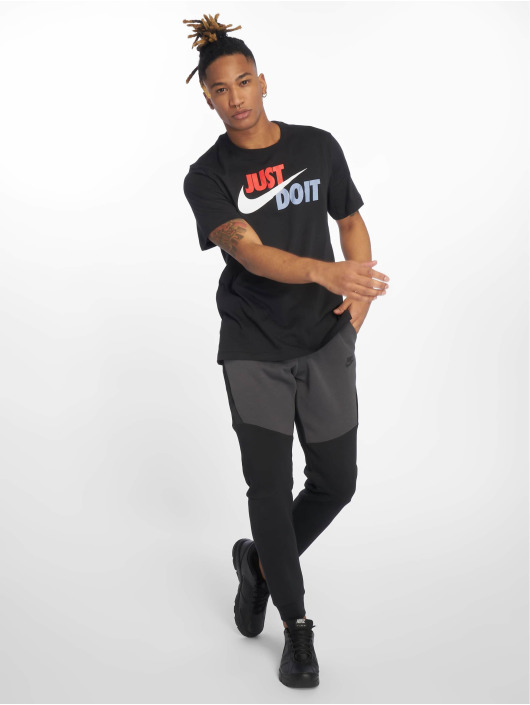 Nike t-shirt Just Do It Swoosh zwart