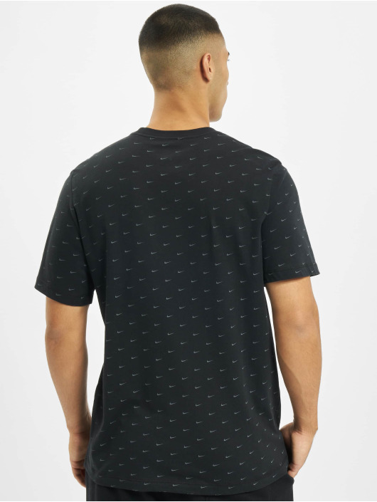 Nike t-shirt Sportswear Swoosh zwart