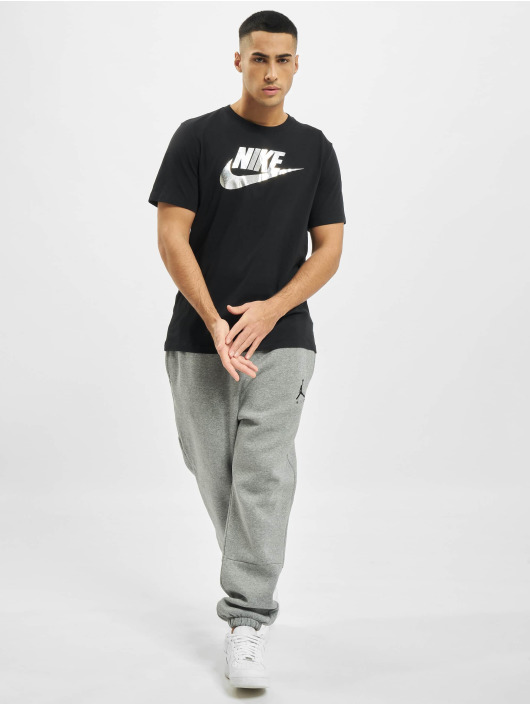 Nike t-shirt Sportswear Brnd Mrk Aplctn 1 zwart