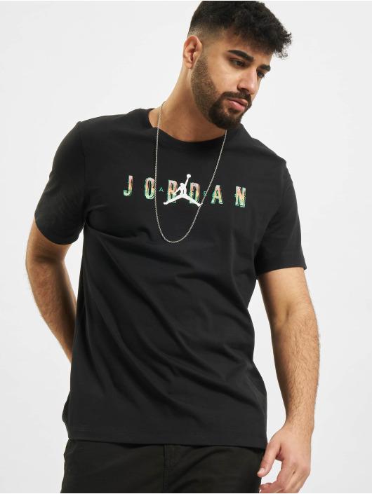 Nike t-shirt M J Sprt Dna Hbr Ss Crew zwart