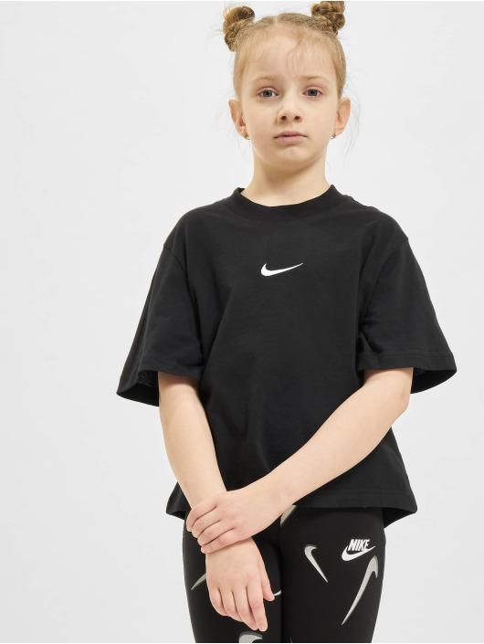 Nike t-shirt Essntl Boxy zwart
