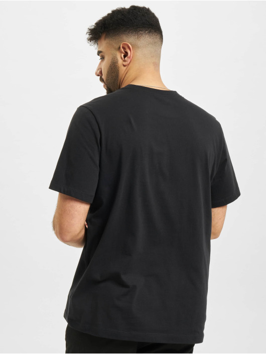 Nike t-shirt Swoosh zwart