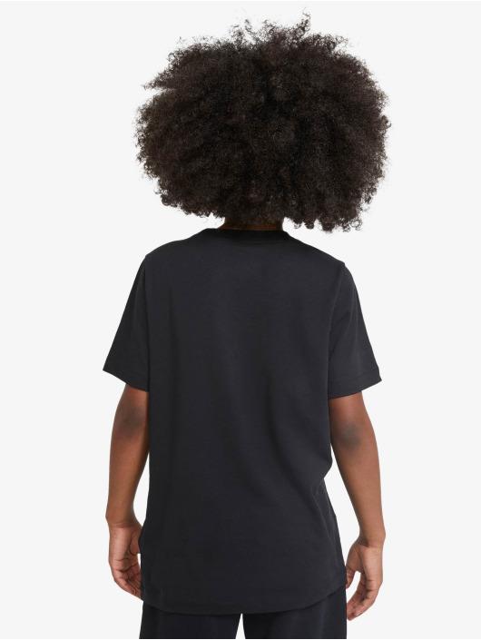 Nike t-shirt Stack zwart