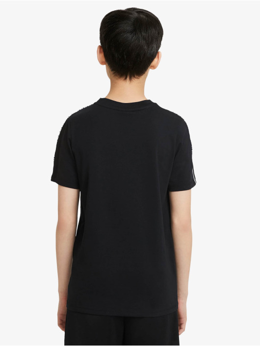 Nike t-shirt Repeat zwart
