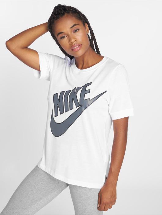 Nike T-shirts NSW Top SS Prep Futura hvid