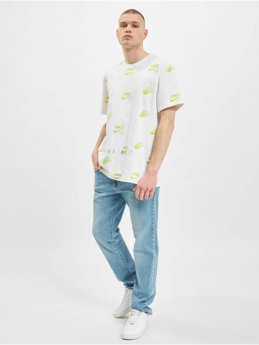 Nike T-shirts AOP hvid