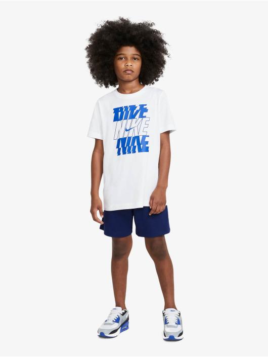 Nike T-shirts Stack hvid