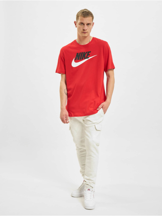Nike T-shirts Icon Futura rød