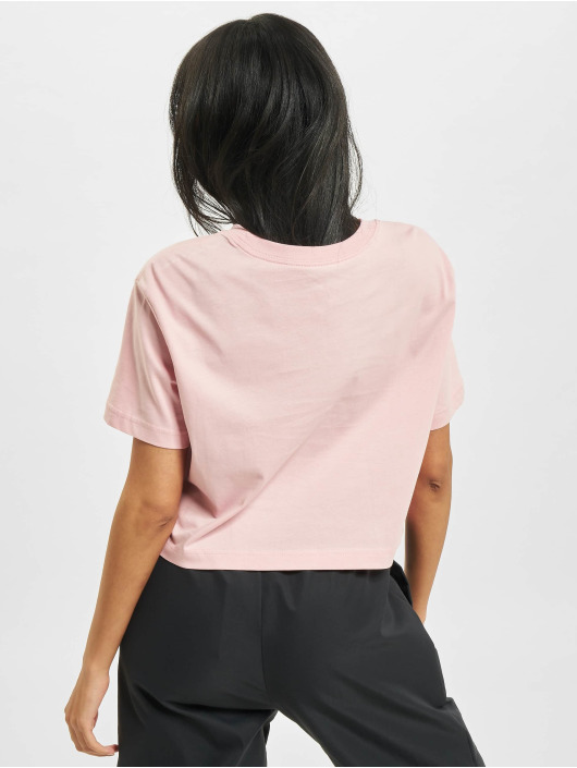 Nike T-shirts W Nsw Essntl Crp Icn Ftr rosa
