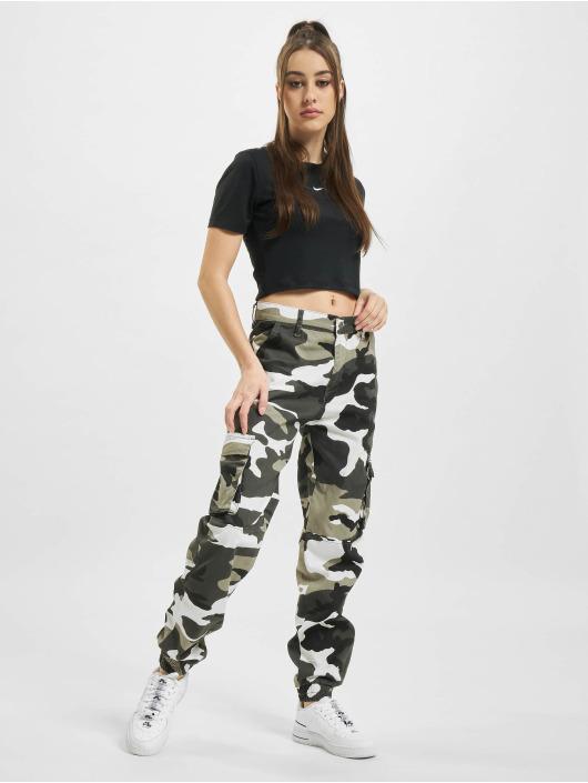 Nike T-shirts W Nsw Essntl Slim Crp Lbr sort