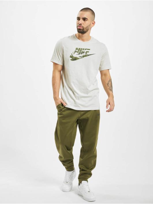 Nike T-Shirty Camo 2 bezowy
