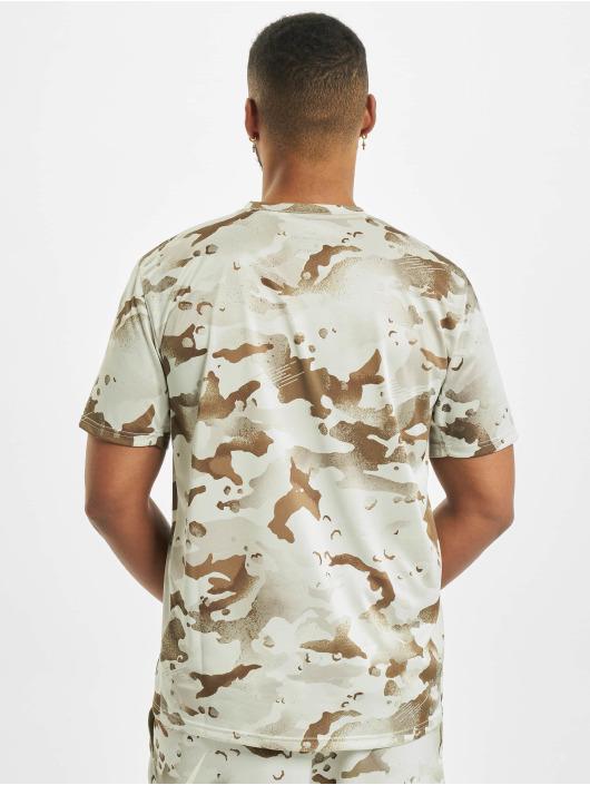 Nike T-Shirty Dry Leg Camo Aop bezowy