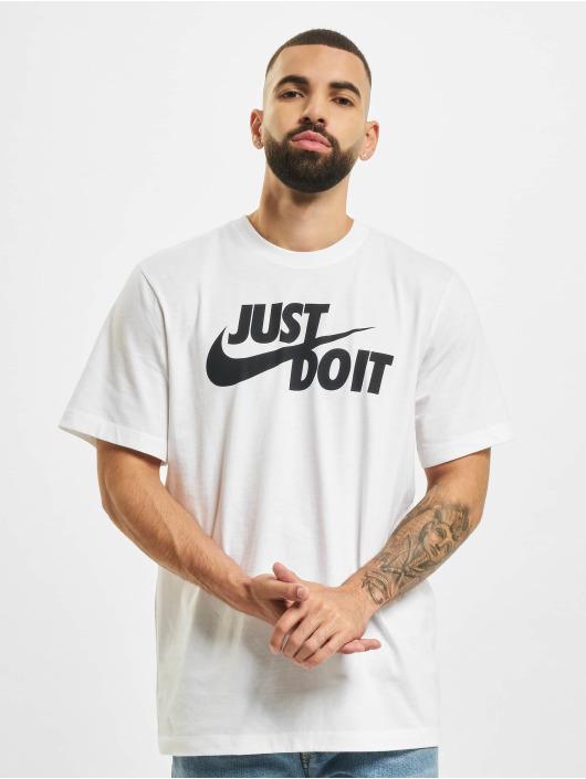 Nike T-Shirty JustDo bialy