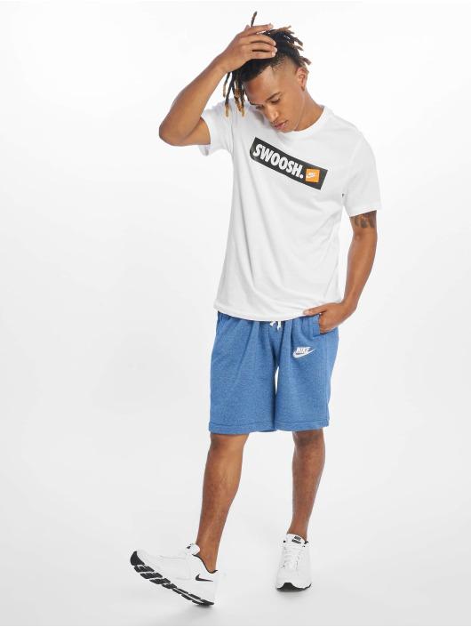 Nike T-Shirty Bmpr Stkr bialy