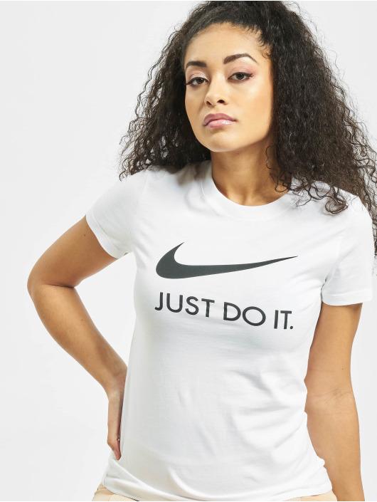 Nike T-Shirty JDI Slim bialy