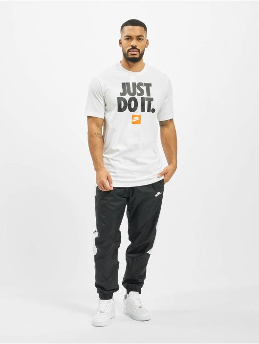 Nike T-Shirty SS JDI 3 bialy