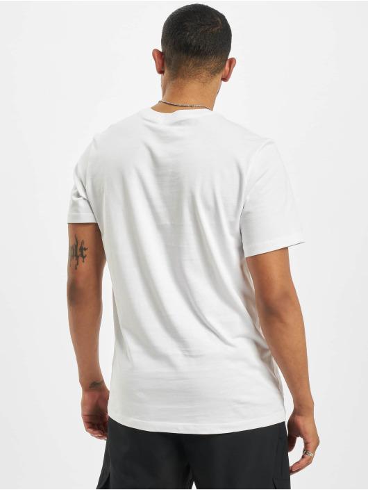Nike T-Shirty Swoosh bialy
