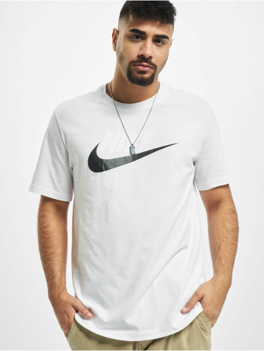 Nike T-Shirty Air HBR 2 bialy