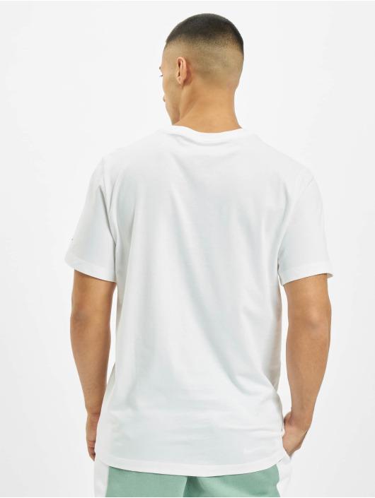 Nike T-Shirty Swoosh PK 2 bialy