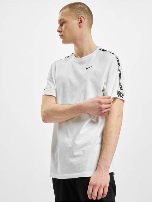 Nike T-Shirty M Nsw Repeat Ss bialy
