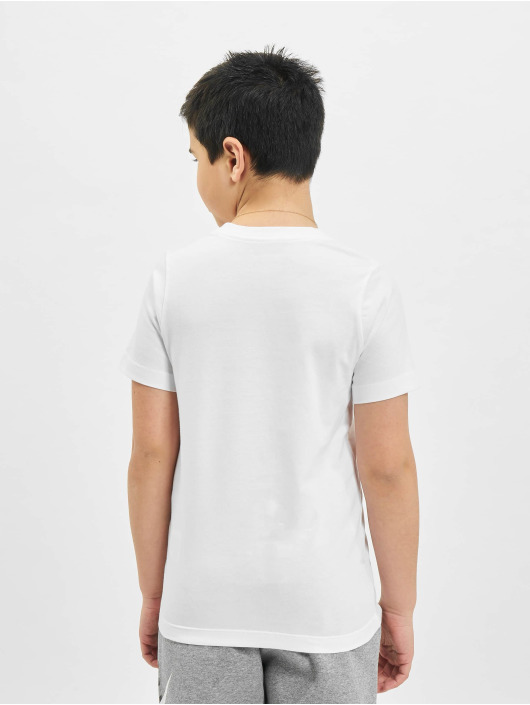 Nike T-Shirty JDI Swoosh bialy