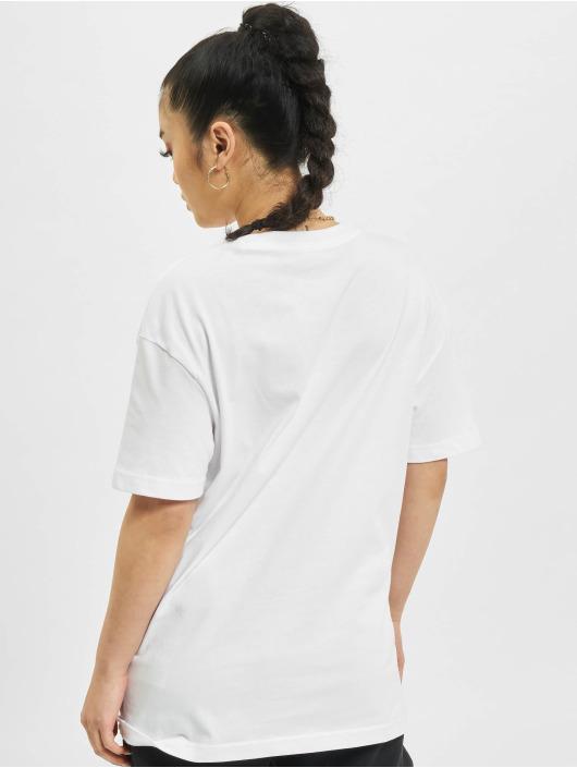 Nike T-Shirty W Nsw Boy Swoosh bialy