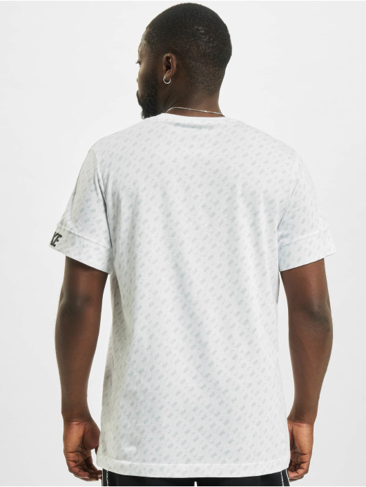 Nike T-Shirty Repeat bialy
