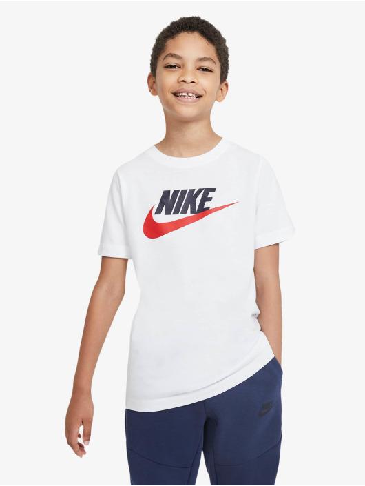 Nike T-Shirty Futura Icon bialy