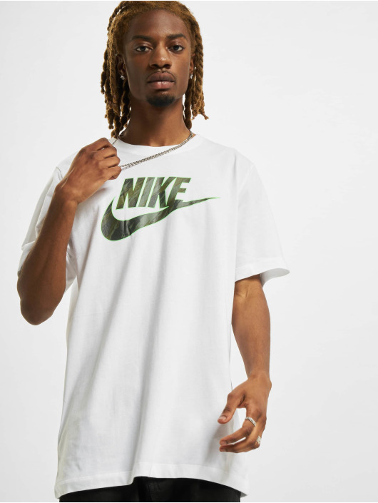 Nike T-Shirty Essential bialy