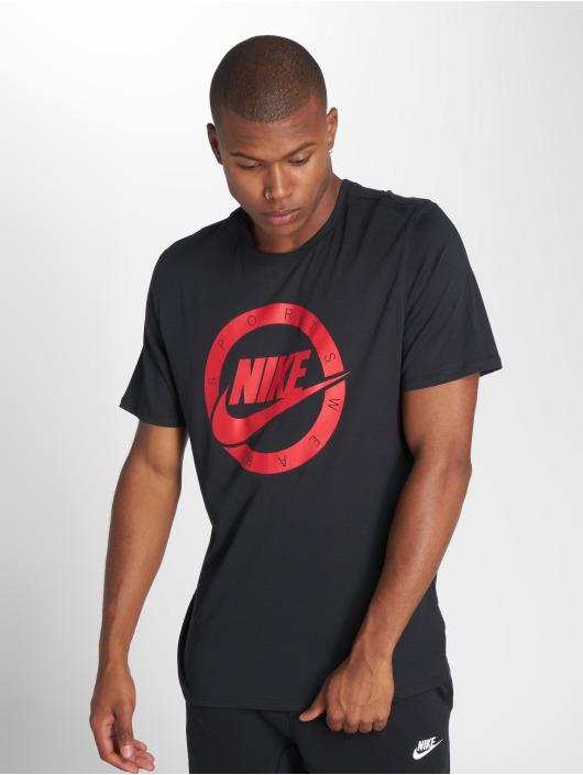 Nike T-Shirty Logo czarny