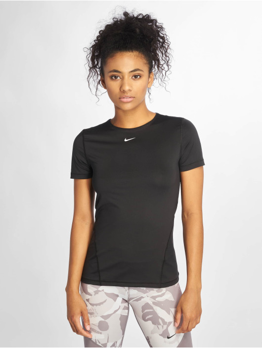 Nike T-Shirty All Over Mesh czarny