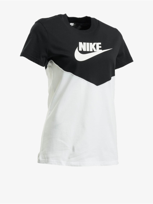 Nike T-Shirty Heritage czarny