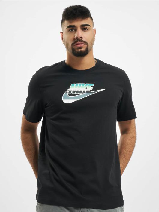 Nike T-Shirty Brandmark Wildcard czarny
