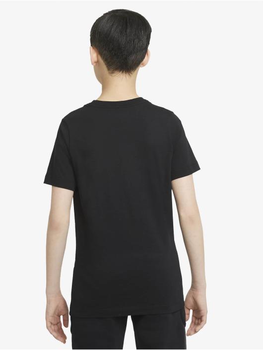 Nike T-Shirty Beach Brandmark czarny