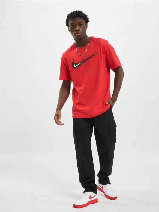Nike T-Shirty M Nsw Swoosh 12 Month czerwony