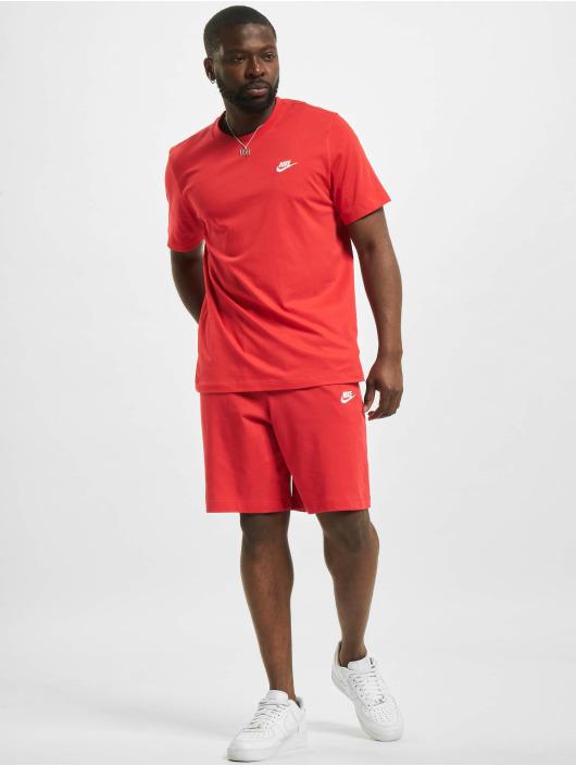 Nike T-Shirty M Nsw Club czerwony
