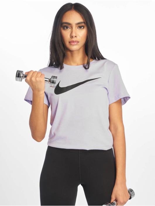 Nike T-Shirty Swoosh fioletowy