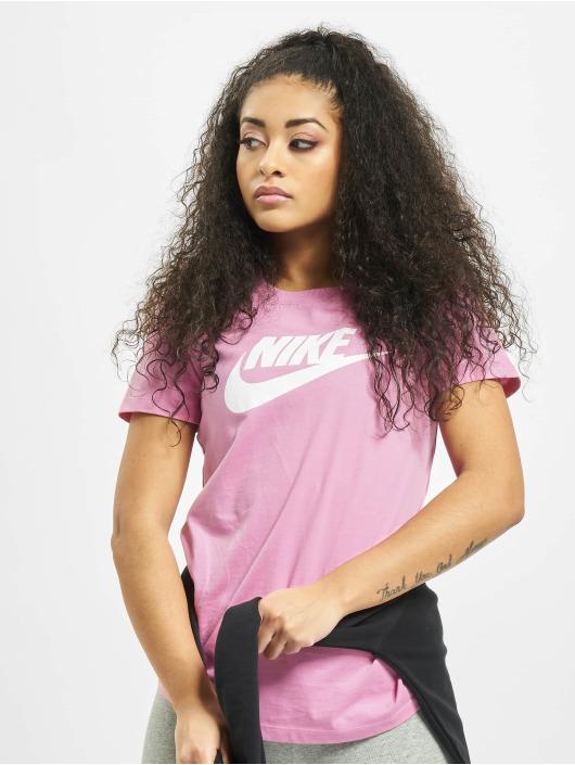 Nike T-Shirty Essential Icon Futur fioletowy
