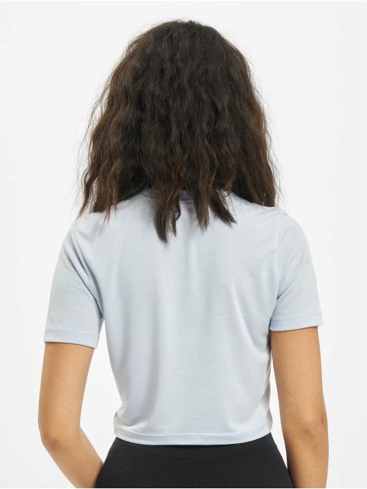 Nike T-Shirty Slim Crop LBR fioletowy