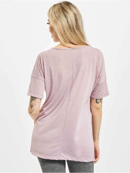 Nike T-Shirty Layer fioletowy
