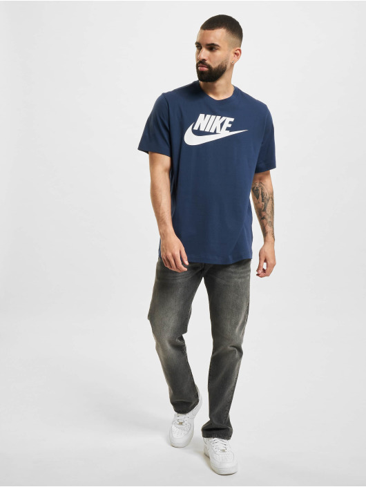 Nike T-Shirty Icon Futura niebieski