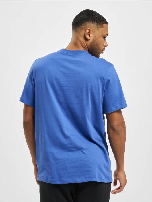 Nike T-Shirty M Nsw Club niebieski