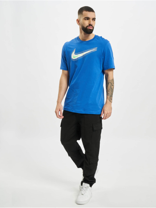 Nike T-Shirty M Nsw Swoosh 12 Month niebieski