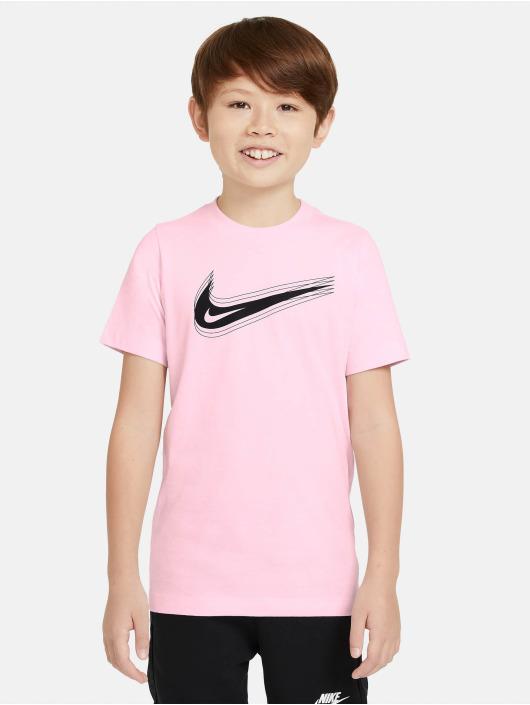 Nike T-Shirty Swoosh pink