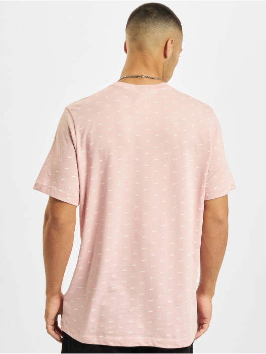 Nike T-Shirty Mini Swoosh pink