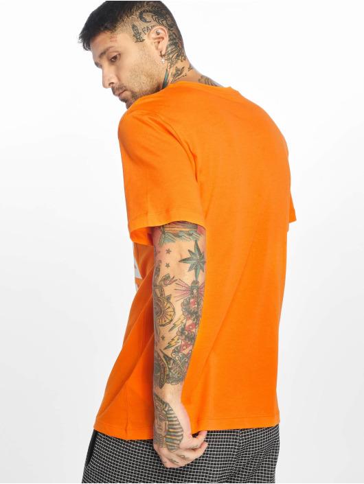 Nike T-Shirty HBR JDI 2 pomaranczowy