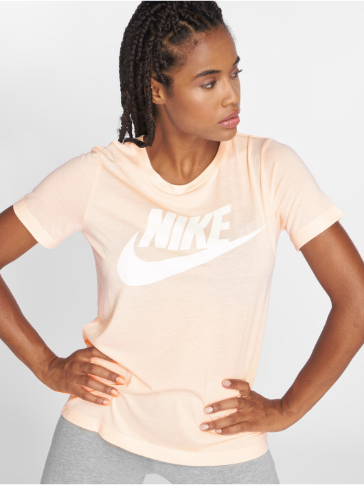 Nike T-Shirty Essential rózowy
