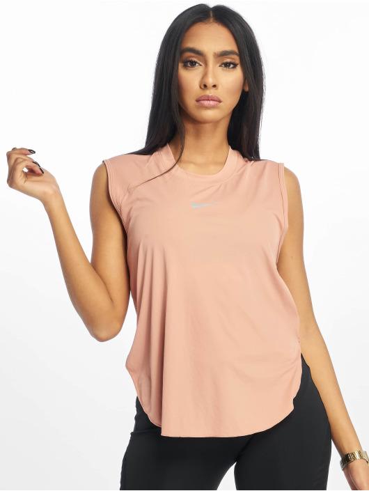 Nike T-Shirty City Sleek Cool rózowy