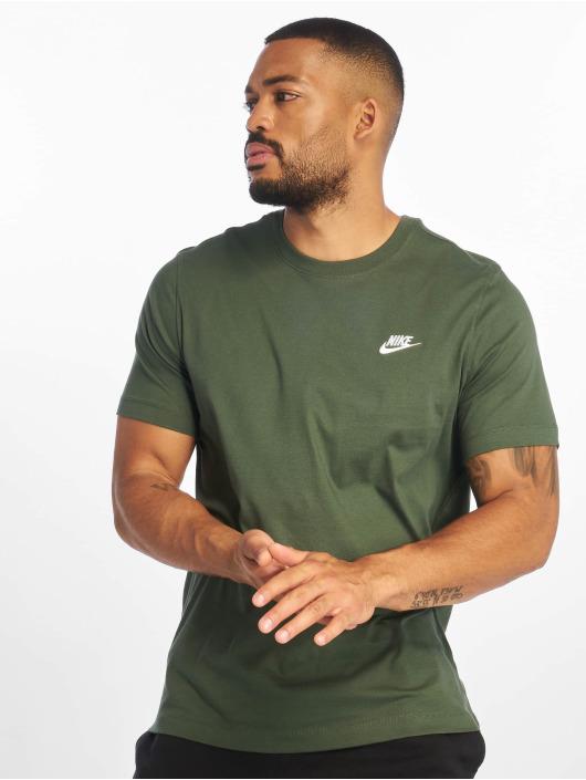 Nike T-Shirty Club zielony