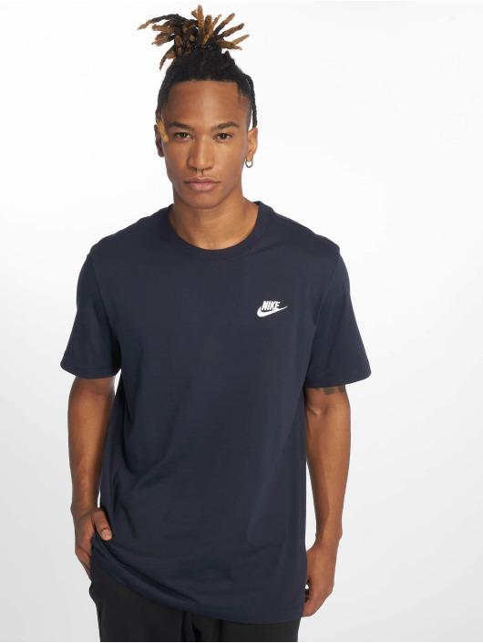 Nike T-skjorter Sportswear Club blå